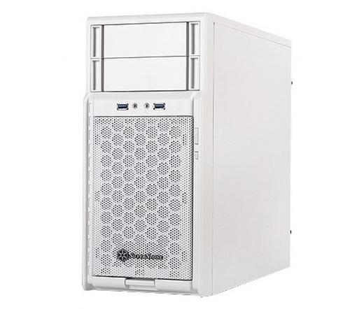 Silverstone SST-PS08B Precision USB3.0 Fehér