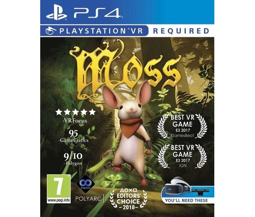 Moss PS4 VR