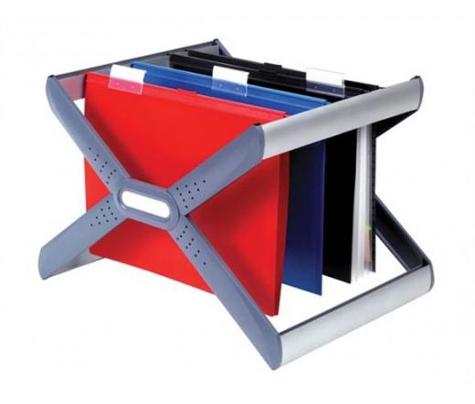 Rexel Függőmappa tároló, műanyag Crystalfile Extra