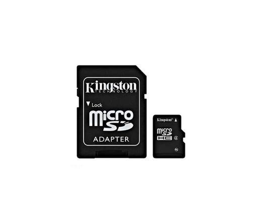 Kingston Micro SD 32GB+SD adapter CL4 (SDC4/32GB)