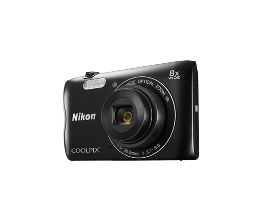 Nikon Coolpix A300 fekete