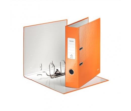 Leitz Iratrendező, 80 mm, A4, Narancssárga