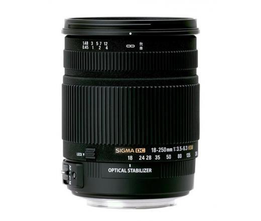SIGMA 18-250/3,5-6,3 DC OS HSM (NIKON)