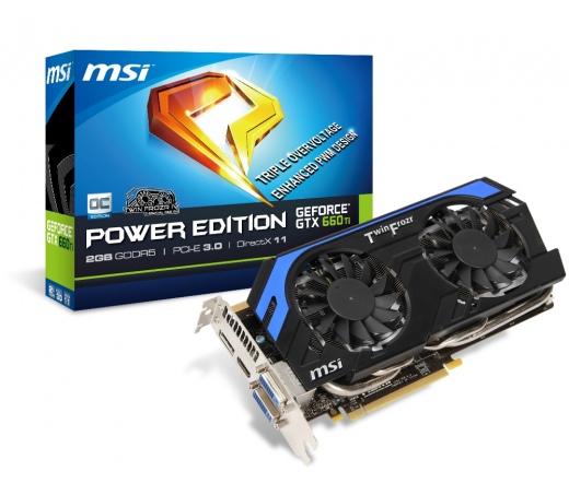 MSI GTX660 Ti OC 2048MB DDR5 PCIE3.0