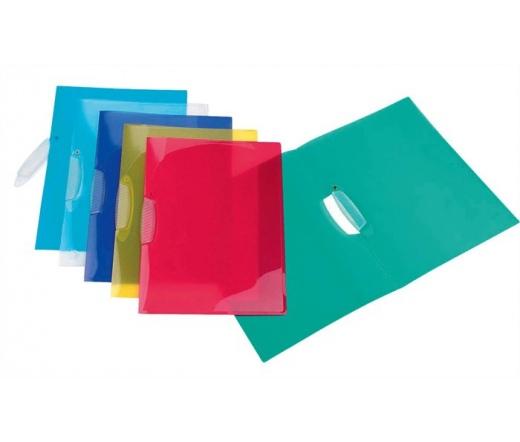 Viquel Gyorsfűző, klippes, PP, A4, vegyes szín
