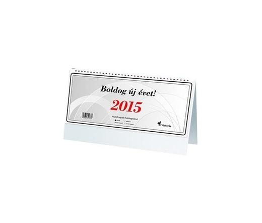 VICTORIA Asztali naptár (2015 évi) 24TA