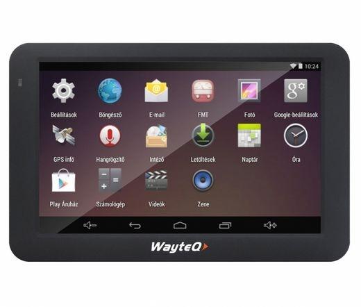 WayteQ x995 + Sygic 3D Európa