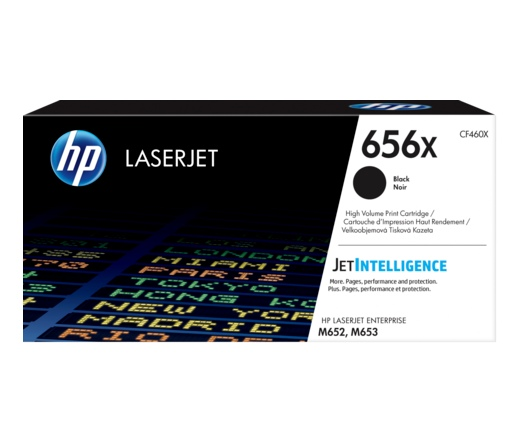 HP 656X nagy kapacitású fekete
