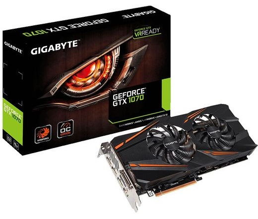 Gigabyte GeForce GTX 1070 WINDFORCE OC