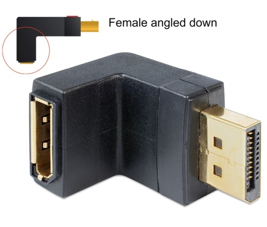 Delock Displayport apa > Displayport anya adapter