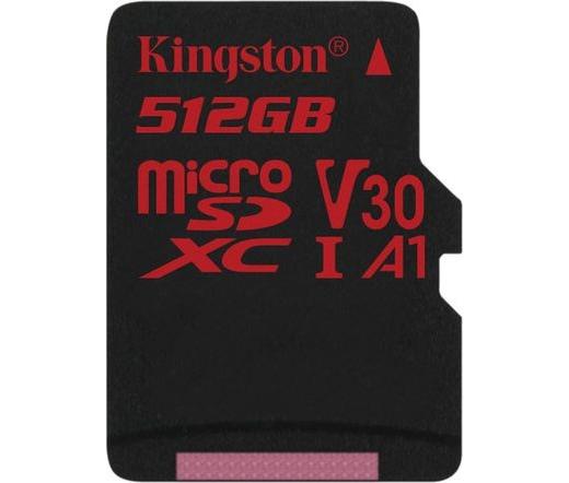 Kingston Canvas React microSDXC 100/80MB/s 512GB
