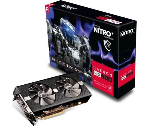 Sapphire Nitro+ Radeon RX 590 8GD5 OC
