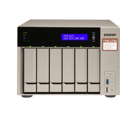 Qnap TVS-673E-4G Nas 4GB RAM, 512 DOM