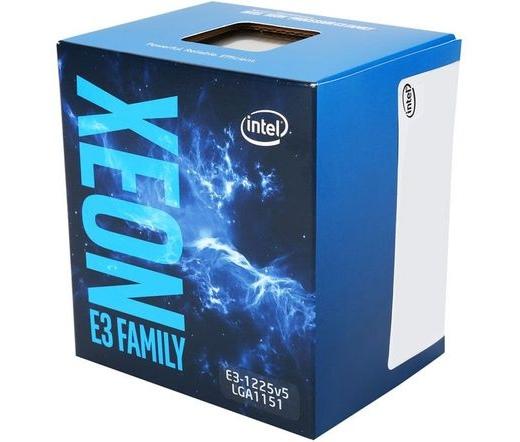 Intel Xeon E3-1245 v5 dobozos
