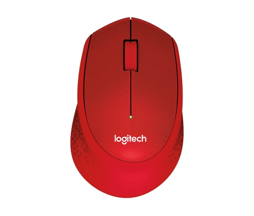 Logitech M330 Silent Plus Wireless piros