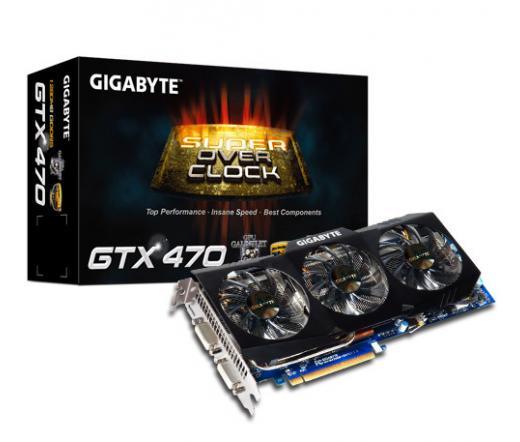 Gigabyte GV-N470SO-13I Geforce GTX470 1280MB