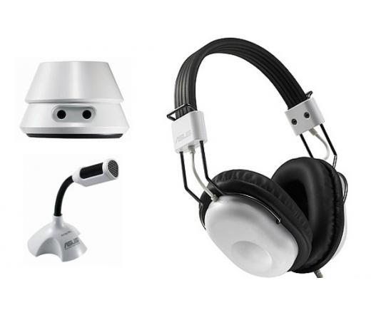 Asus HP-100U Wireless Fejhallgató+Mikrofon Fehér - 90-YAHI1210-UA00- -  Fejhallgató - Fejhallgató 4d60bbeb23