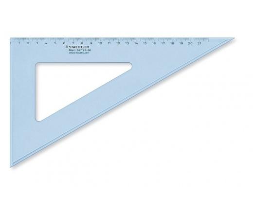 "Staedtler ""Mars"" Háromszög vonalzó, 60°, 25 cm"