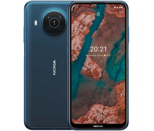 Nokia X20 6GB 128GB Dual SIM Kék
