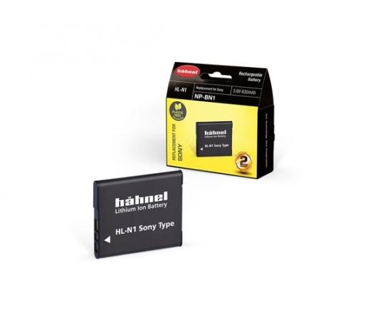 HAHNEL HL-N1 akkumulátor (Sony NP-BN1 630 mAh)
