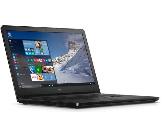 Dell Inspiron 5567 FHD i3-6006U 4GB 256GB fekete