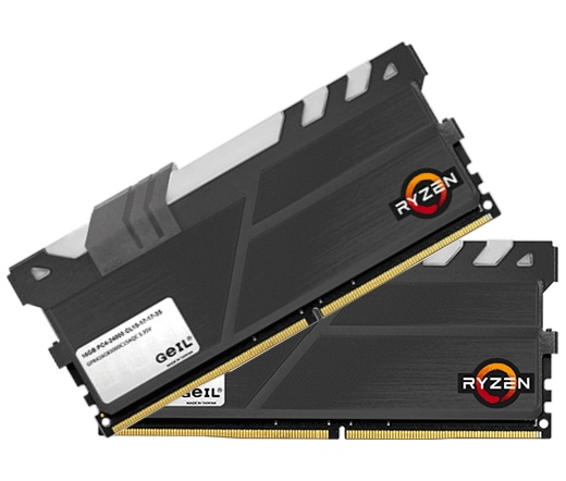 GeIL EVO X DDR4 AMD fekete 3000MHz CL16 16GB KIT2