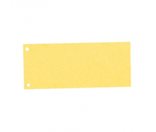 Esselte Elválasztócsík, karton, sárga (100 db)