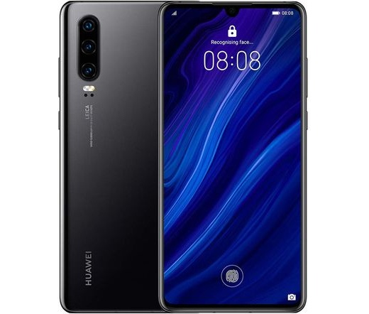 Huawei P30 DS éjfekete