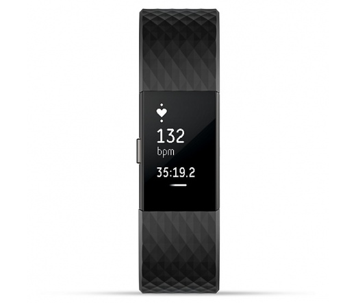 Fitbit Charge 2 Gunmetal Large