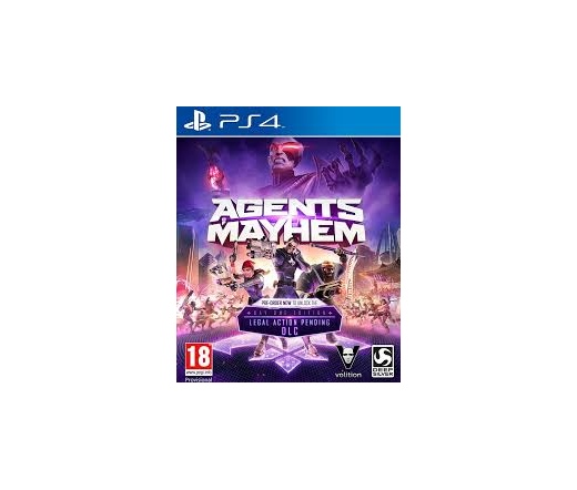 PS4 Agents of Mayhem Retail Edition