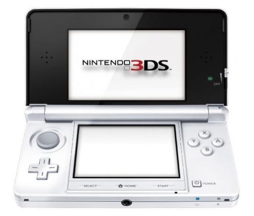 NINTENDO 3DS HW Játékkonzol Fehér