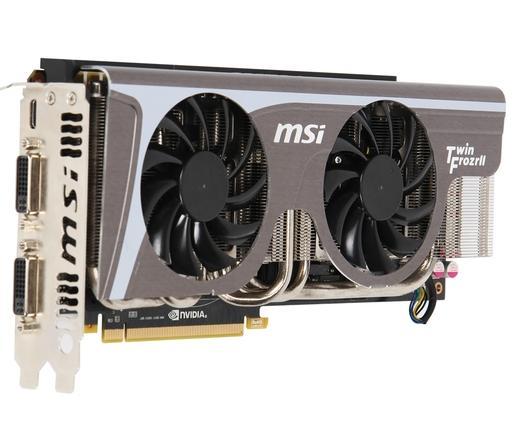MSI PCIe GTX580 1536MB Twin Frozr II GDDR5 OC