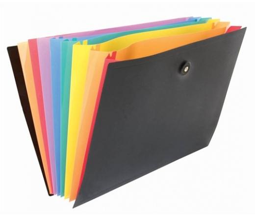 Viquel Rainbow Class 8 részes PP harmonika mappa