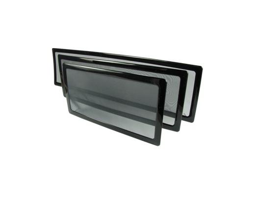 DEMCIFLEX Porszűrő 240mm radiátorhoz fekete/fekete
