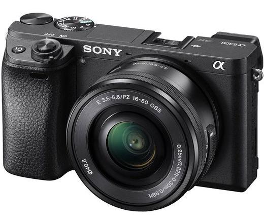 Sony Alpha 6300 + 16-50mm kit