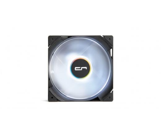 Cryorig QF120 Silent 120mm LED fehér hűtő