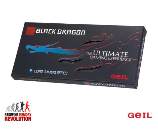 Geil Black Dragon Kit2 DDR2 1066MHz 4GB 5 asztali