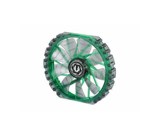 BitFenix Spectre PRO LED Green 230mm Fekete