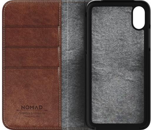 Nomad Leather Folio iPhone X-hez