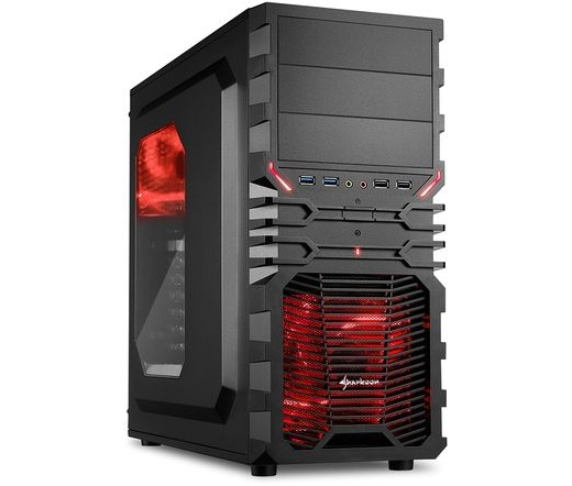 Sharkoon VG4-W piros