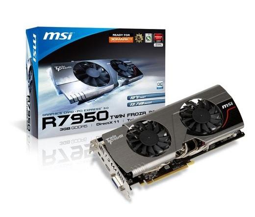 MSI R7950 Twin Frozr 3GD5/OC