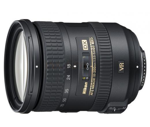 Nikon Nikkor 18-200mm f/3.5-5.6 G AF-S DX VR II