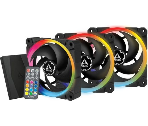 Arctic BioniX P120 A-RGB 3 db + kontroller