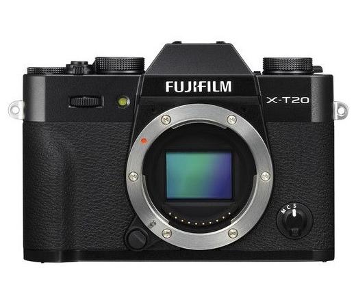 Fujifilm X-T20 fekete váz