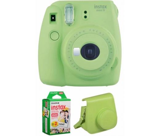 Fujifilm Instax Mini 9 Csomag Lime Zöld