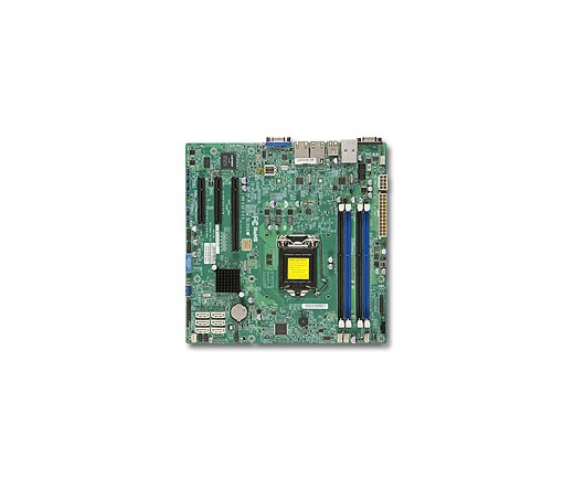 Supermicro Mother Board - Intel MBD-X10SLM+-L