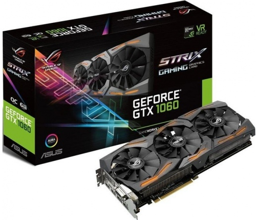 Asus STRIX-GTX1060-A6G-GAMING 6GB DDR5