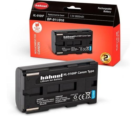 Hahnel HL-916HP (Canon BP-911/916 2600mAh)