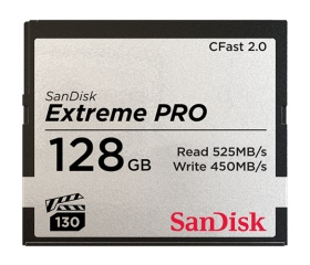 SanDisk Extreme Pro CFast 2.0 128GB 525MB/s