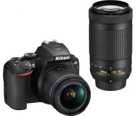 Nikon D3500 + AF-P DX 18–55 VR + AF-P DX 70–300 VR